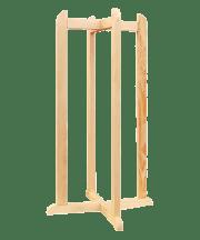 Підставка під диспенсер  дерев'яна висока
